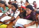 Human Rights Training in Four Districts