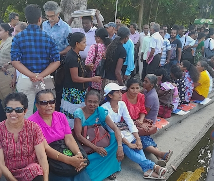 People Power to Urge Government Action in Colombo