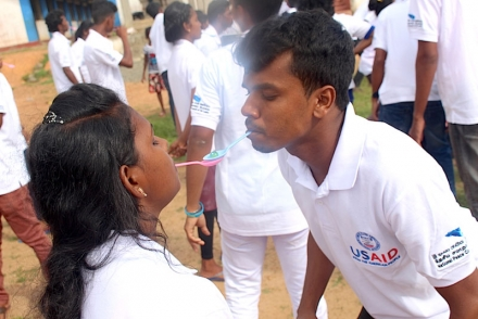 Sports and Arts to Build Understanding in Galle