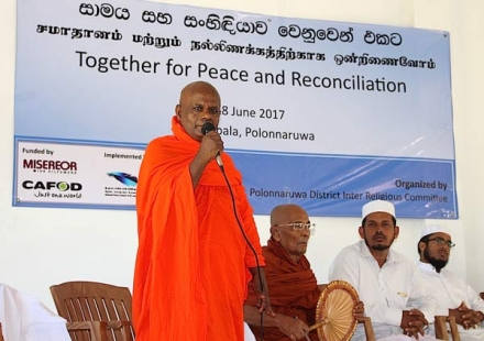 Sharing Religious and Cultural Values in Polonnaruwa