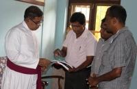 Meeting with the Bishop of Anuradhapura
