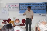 NPC Executive Director Jehan Perera addresses Kalutara DIRC
