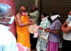 Weligama LIRC Provides for Families in Need