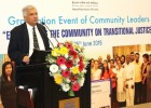 Transitional Justice Essential For Reconciliation Says Prime Minister