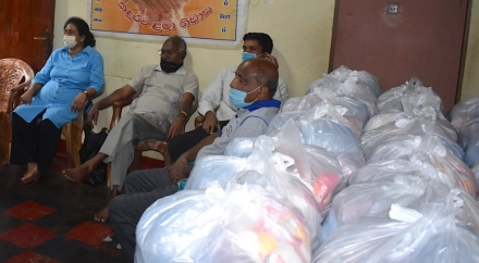 Relief Packs Supplied to Orphanages in Badulla