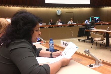 Sri Lanka Raises Women's Concerns At CEDAW Committee in Geneva