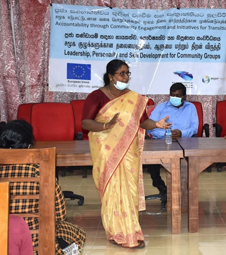 Training for Marginalised Groups on Delft Island