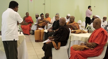 Religious Leaders Learn About Transitional Justice