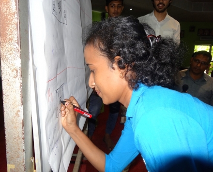 Young People Discuss Peace Building in Batticaloa