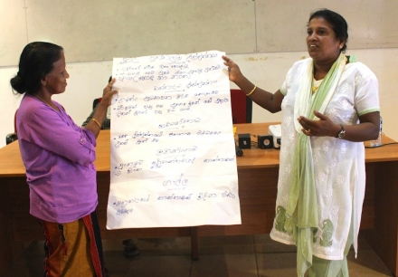 War Affected Women Share Experiences On Exchange Visit