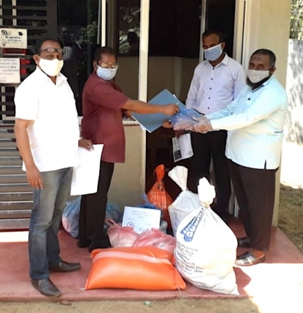 Helping Curfew Casualties in Kandy